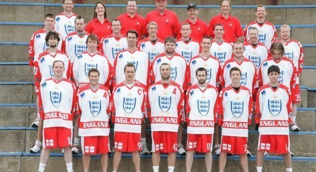 2011 English National Team box lacrosse