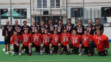 National Germany box lacrosse team