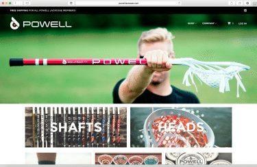 Powell Lacrosse Website