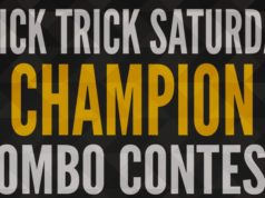 CHAMPION – Stick Trick Saturday Combo Contest