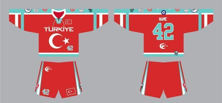 Turkey box lacrosse uniform WILC 2015