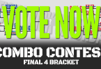 Vote Now Stick Trick Saturday Combo Contest FInal Four.
