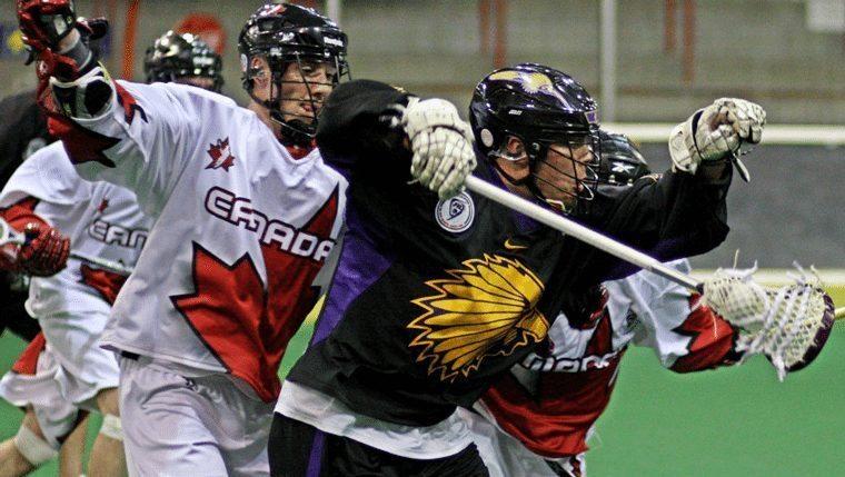 Canada vs Iroquois - THE Box Game WILC 2011 Photo Credit Larry Palumbo