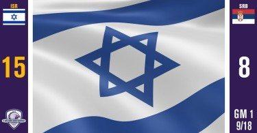 WILC Game Recap: Israel 15, Serbia 8