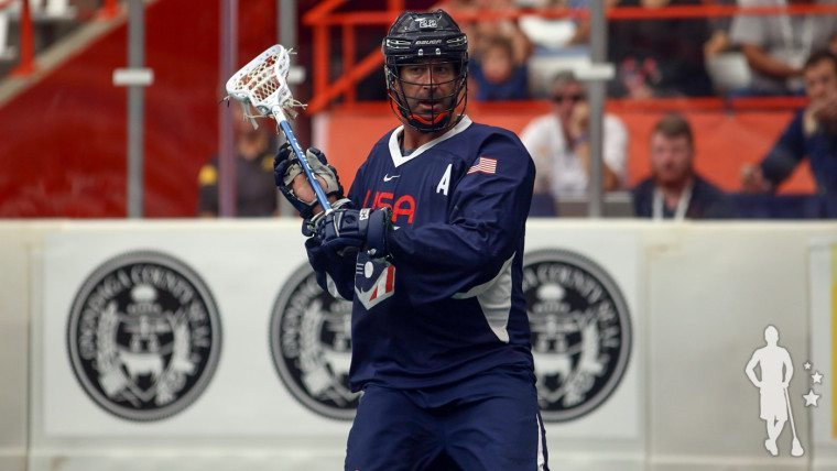 Casey Powell Team USA Settles With Bronze, Defeats Israel 15-4