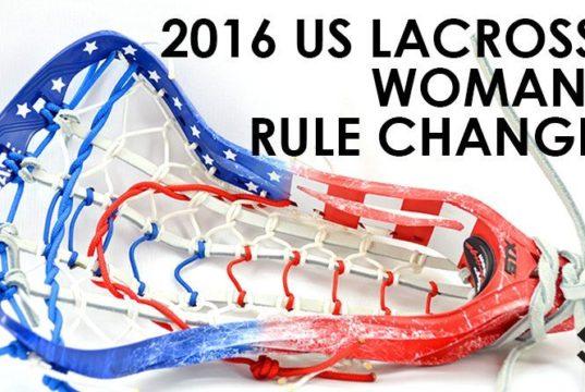 2016 US Lacrosse WOmen's Rules