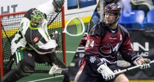 Colorado Mammoth vs Saskatchewan Rush NLL 2016