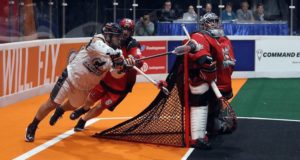 New England Black Wolves vs Calgary Roughnecks NLL 2016