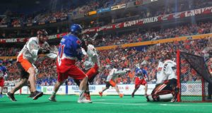 Buffalo Bandits Toronto Rock NLL Photo Credit Bill Whippert 2016