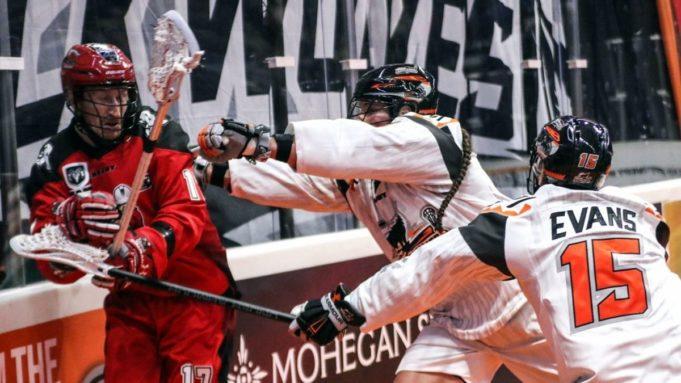 Curtis Dickson NLL Calgary Roughnecks New England Black Wolves