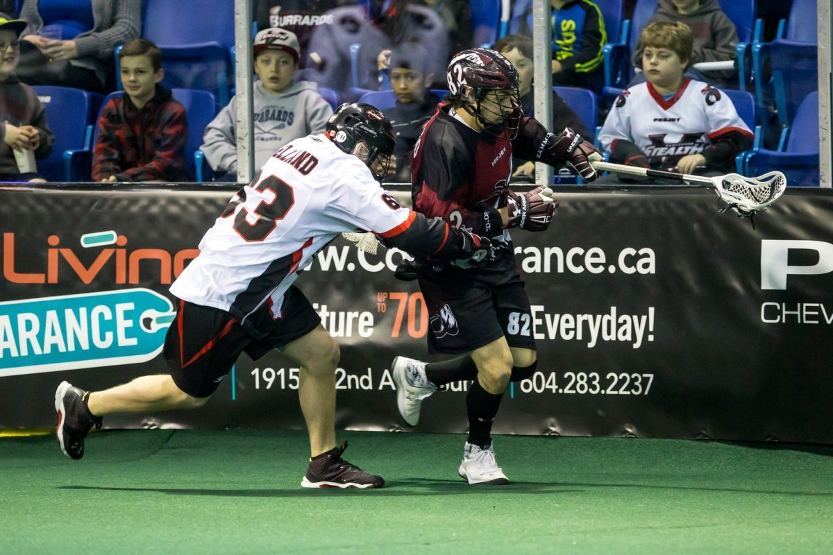 Vancouver Stealth Colorado Mammoth Photo: Garrett James