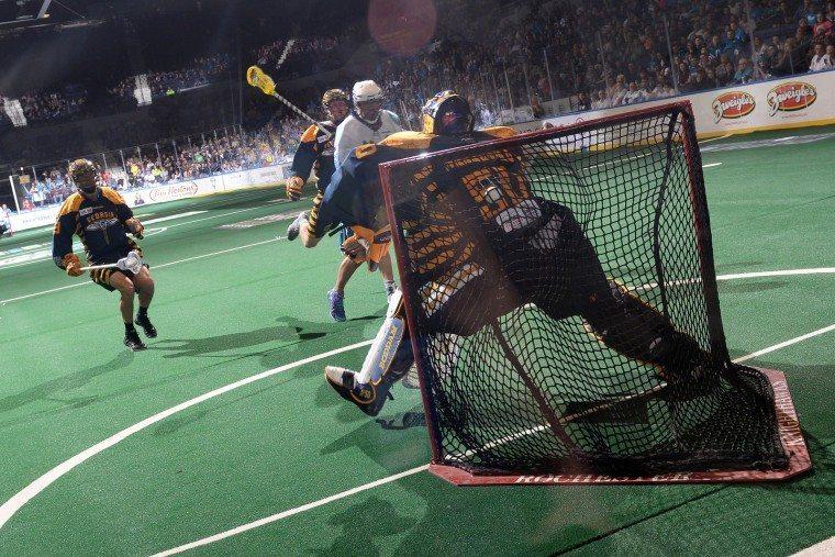Battle at Blue Cross Arena - Rochester vs Georgia NLL