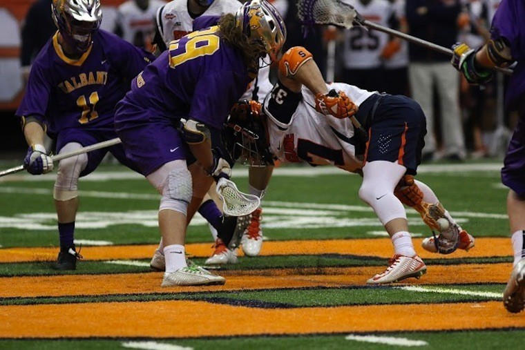 syracuse albany 2016 MLL Face Off Rules