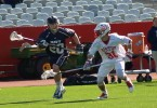 Boston University BU lacrosse navy