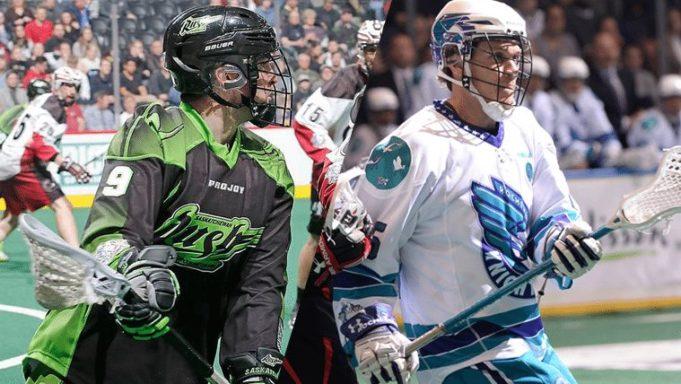 Saskatchewan Rush vs Rochester Knighthawks 2016 NLL Game of the Week 8