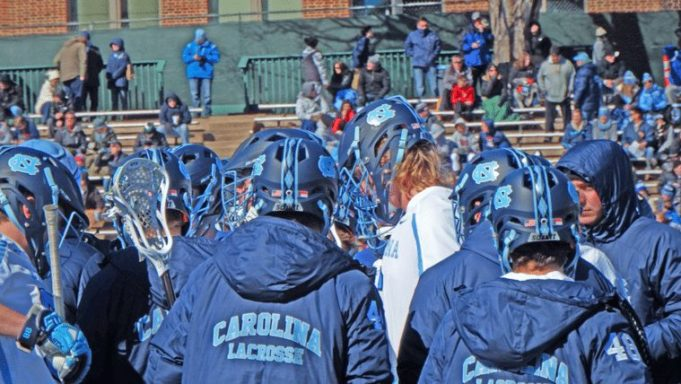 University of North Carolina Lacrosse UNC Tar Heels 2016 NCAA