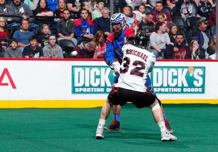 Vancouver Stealth at Colorado Mammoth 2015 NLL Photo: Jack Dempsey