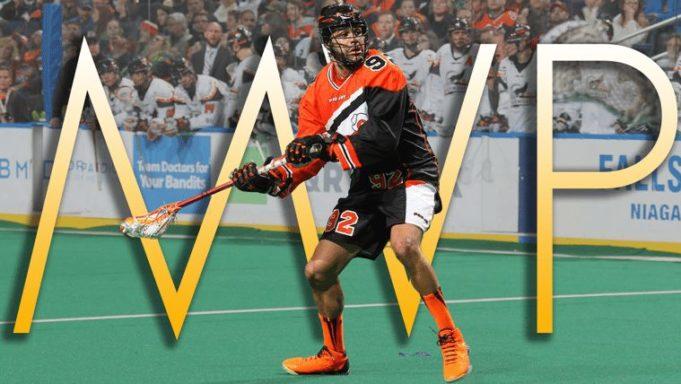 Dhane Smith Buffalo Bandits NLL MVP