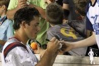 Marcus Holman signing autograph