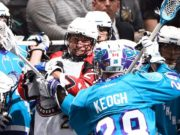 Toronto Rock Rochester Knighthawks NLL 2016 Photo: Graig Abel