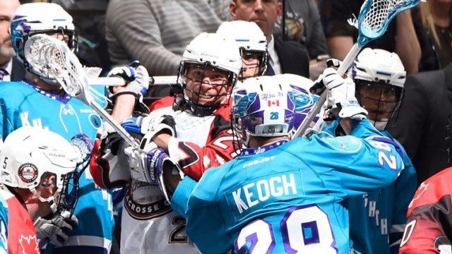 Toronto Rock Rochester Knighthawks NLL 2016 Photo: Graig Abel