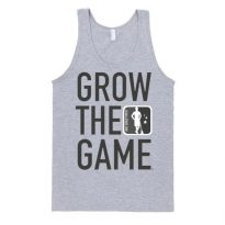 Grow The Game Darth Tank - GREY