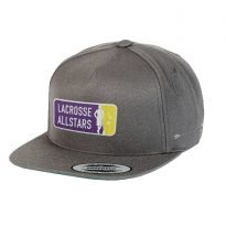 Lacrosse All Stars Traditional Hat - GREY - IRO