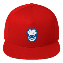 LASi-Snapback-Royal-on_arrow-side-logo-f_mockup_Front_Red