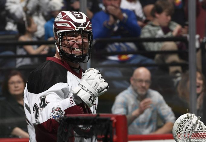 Colorado Mammoth John Grant Jr. 2016 NLL Photo: Jack Dempsey