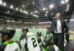 Saskatchewan Rush vs Calgary Roughnecks 2016 NLL West Finals Photo: Josh Schaefer