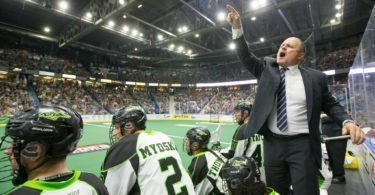 Saskatchewan Rush vs Calgary Roughnecks 2016 NLL West Finals Photo: Josh Schaefer