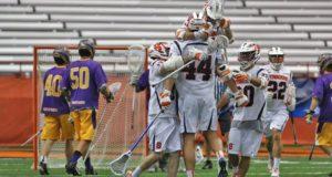 Syracuse Orange UAlbany Great Danes Lacrosse NCAA 2016 Photo: Jeff Melnik