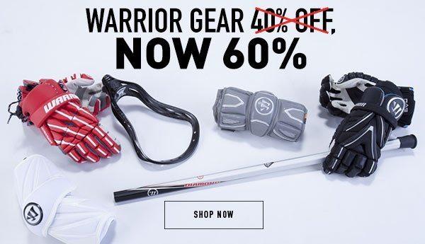 HUGE Warrior Gear Sale