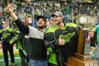 Saskatchewan Rush 2016 NLL Champions Champion's Cup Photo: Josh Schaefer