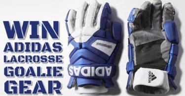 Enter to win Adidas Lacrosse Goalie Gear