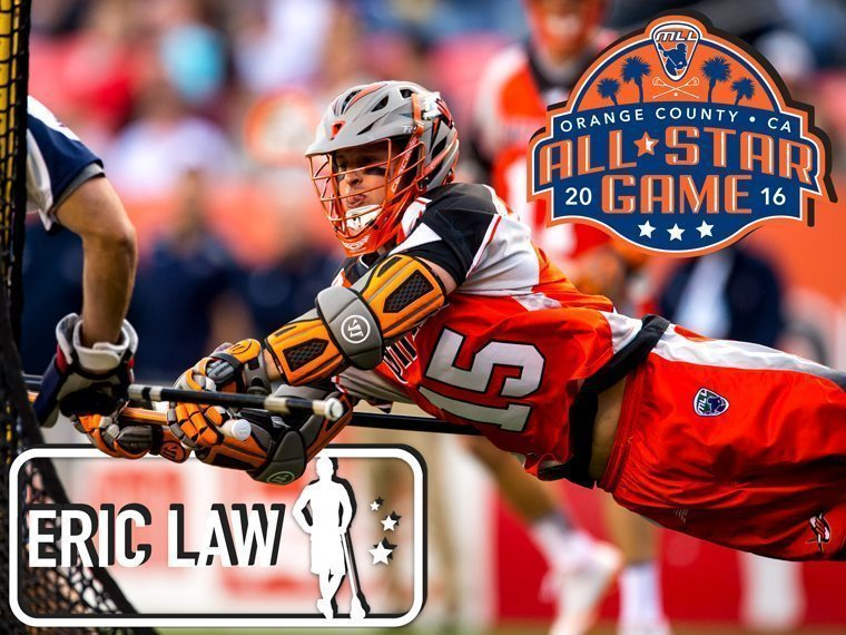 ERIC LAW - major league lacrosse all stars by brand
