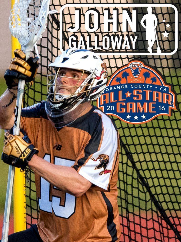 JOHN GALLOWAY - major league lacrosse all stars by brand