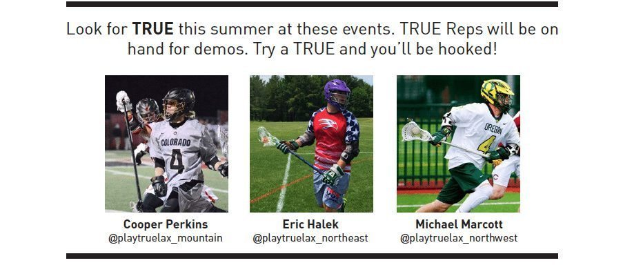 Where To Demo TRUE Handles This Summer