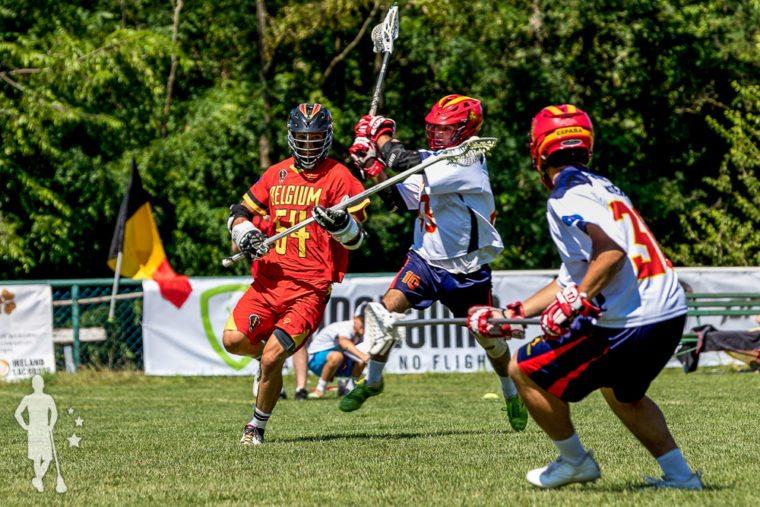 Belgium vs Spain - European Lacrosse Championships