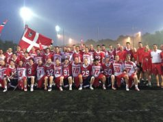 The Dansk Lacrosse Men's National Team copenhagen lacrosse