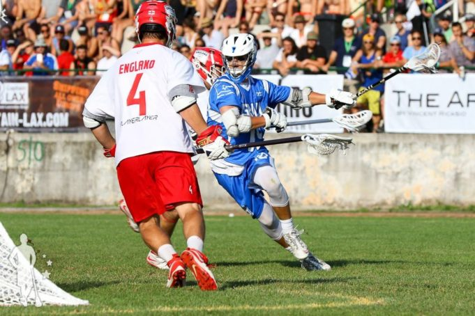 2016 European Lacrosse Championship Gold Medal