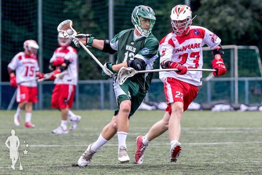 Denmark lacrosse vs Wales lacrosse - 2016 Euro Championships