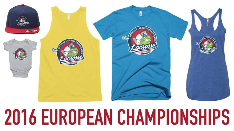 2016 European Championships Apparel by Lacrosse All Stars