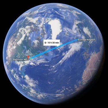 UK to Baltimore