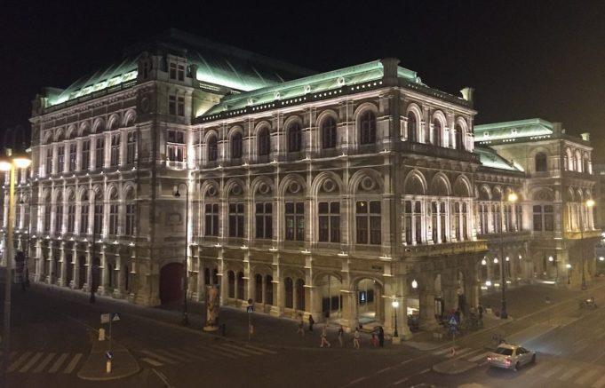 vienna austria opera house