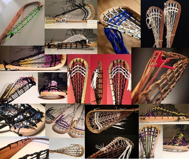 lacrosse wood sticks