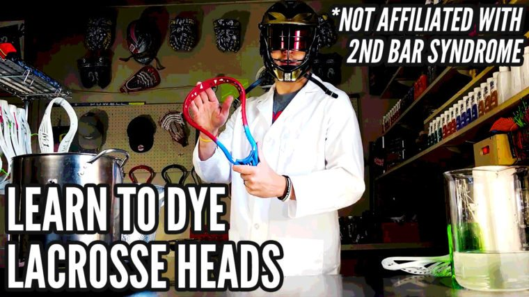 Learn How To Dye Your First Lacrosse Head