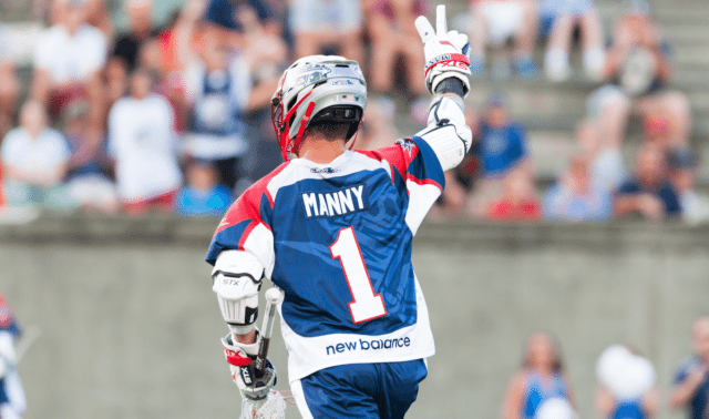 Boston Cannons Will Manny 2016 mll playoff