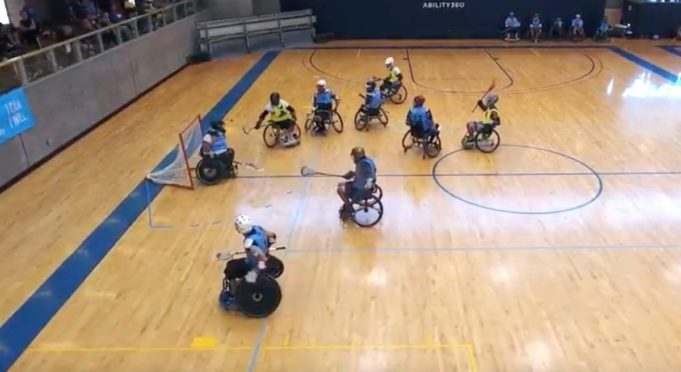 wheelchair lacrosse - jason graber