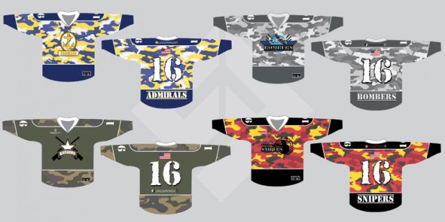 PSL Box lacrosse uniforms Premier Series Lacrosse